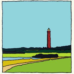 Ouddorp-zomer / Wim van Willegen