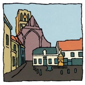 St. Catharijnekerk Brielle / Wim van Willegen