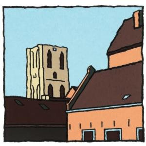 Toren Goedereede / Wim van Willegen