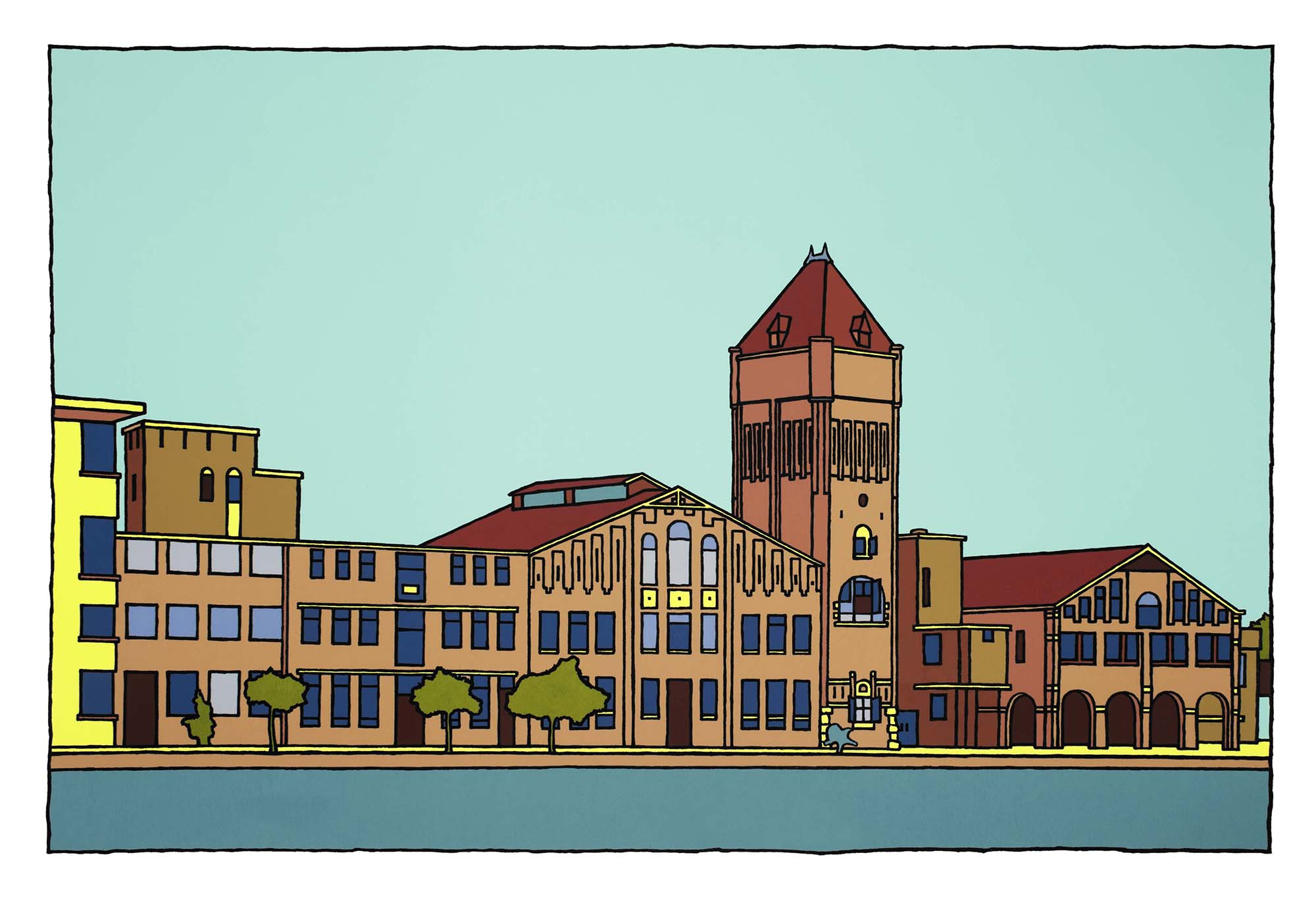 Verkadefabriek / Wim van Willegen
