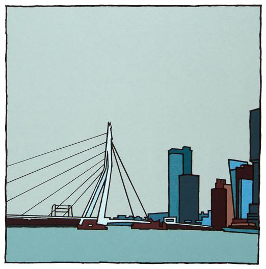 Erasmusbrug I / Wim van Willegen