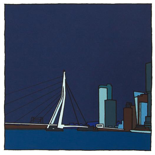 Erasmusbrug II / Wim van Willegen