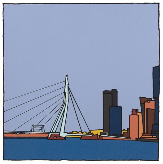 Erasmusbrug III / Wim van Willegen