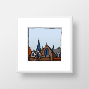 Oude Kerk Amsterdam / fine art print