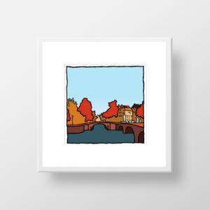 Reguliersgracht Amsterdam / fine art print